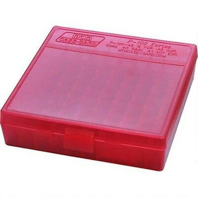 AU20 • Buy MTM Ammo Box Small Pistol 100 Round Red Fits 9mm P-100-9-29