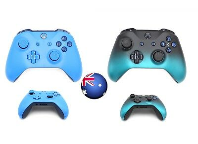 AU88.99 • Buy New Xbox One S Blue Wireless B-tooth Game Controller Gamepad Jack For MS Window
