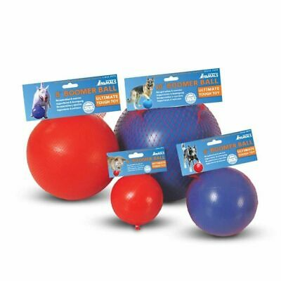Boomer Ball Indestructible Solid Dog Toy 4 6 8 10 Inch • 11.29£