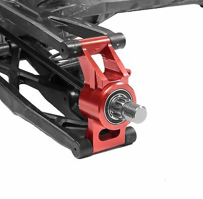 AU96.41 • Buy Racers Edge - X-Maxx Aluminum Rear Hub Carrier Set - Red