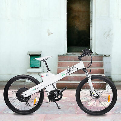 $1099 • Buy ECOTRIC 26 1000W 48V Mountain City Electric Bicycle E-Bike Hydraulic Brake Moped