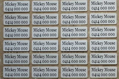 AU3.99 • Buy IRON ON Personalised Name Stickers / Label For Clothing, 2.2 X 0.9 CM Waterproof