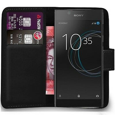 AU6.30 • Buy Case Cover For Sony Xperia XA Ultra XA1 Magnetic Flip Leather Wallet Phone Book