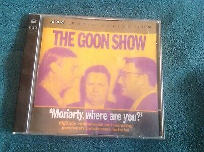 The Goon Show: Moriarty, Where Are You? By Spike Milligan (CD-Audio, 2010) • 5£
