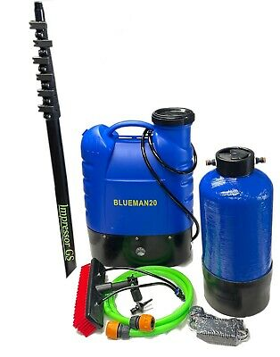 Backpack Complete Water Fed Window Cleaning System - Pure Water - Ready To Use • 377.52£