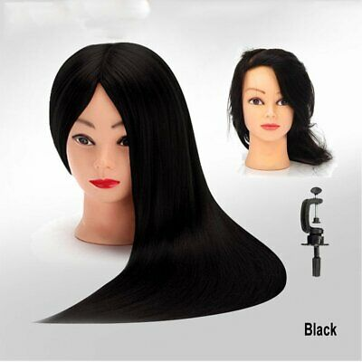 $26.71 • Buy 18  Synthetic Hair Mannequin  Hairdressing Training Head Cosmetology LOT