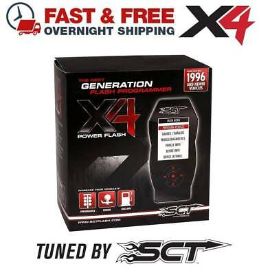 $399 • Buy SCT X4 7015 Performance Flash Tuner 2004 Ford Mustang Cobra 4.6L