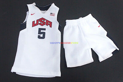 $21.99 • Buy 1/6 NBA USA Dream Team Olympic 2012 #5 Kevin Durant Jersey For Enterbay Figure