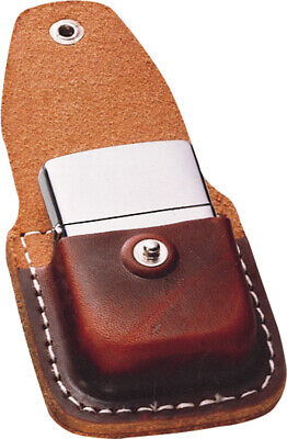 $14.84 • Buy Zippo Lighter Pouch Brown Leather Sheath 17020
