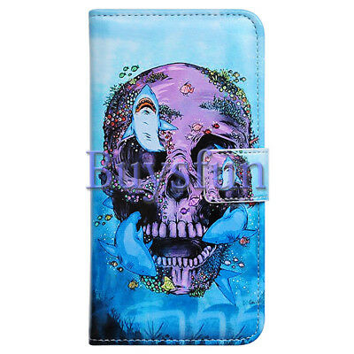 $ CDN12 • Buy Covdo Purple Skull Shark Style Leather Cover Case For Samsung Galaxy Note 9