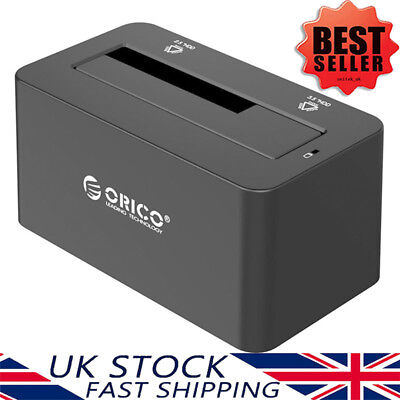 £19.49 • Buy ORICO USB 3.0 External Hard Drive Docking Station For 2.5/3.5 Inch HDD/SSD UASP