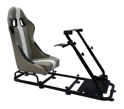 Racing Simulator Chair Rally WRC F1 Race Gaming Frame Seat PC PS4 Xbox FREE P&P • 289.99£