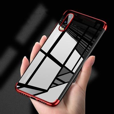 For Huawei P20 Pro P Smart Stylish Hybrid Shockproof Plating Case Silicone Cover • 2.95£
