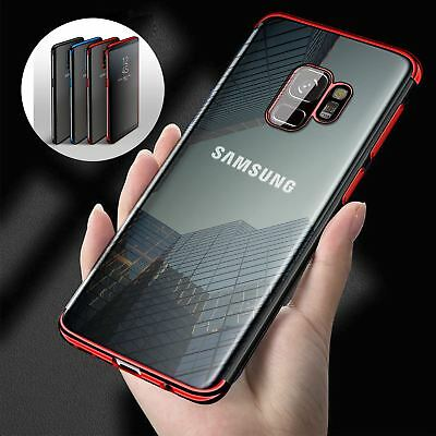 $ CDN4 • Buy Luxury Ultra Slim Shockproof Silicone Clear Case Cover For Samsung Galaxy S8 S9