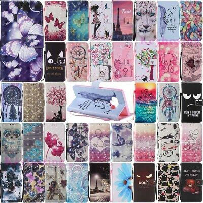 $ CDN6.36 • Buy For Samsung Galaxy Note 9 /Note 8 Leather Wallet Card Slot Flip Phone Case Cover