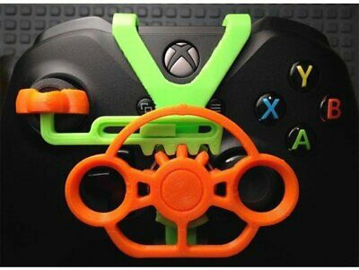 Xbox One Controller Mini Steering Wheel - 3D Printed - Xbox One X - Xbox One S A • 14$