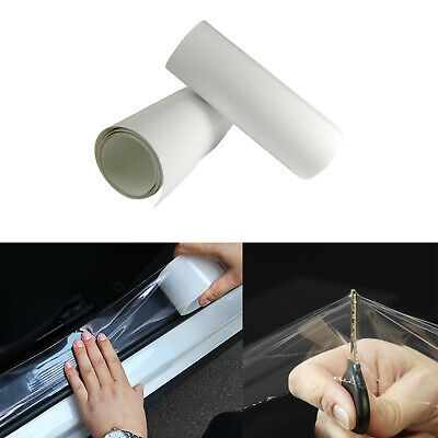 $6.88 • Buy 6  X 60  Clear Car Door Sill Edge Paint Protection Scratches Film Vinyl Sheet