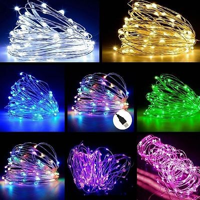$2.52 • Buy 5M / 10M USB LED Copper Wire String Fairy Light Strip Lamp Xmas Party Waterproof