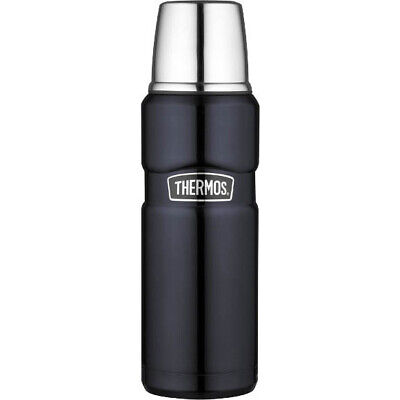 AU24 • Buy THERMOS 12 Hr Hot 24hr Cold  Stainless Insulated Flask 470ml Midnight Blue