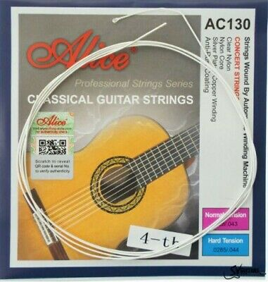 $ CDN10.35 • Buy 5 X Classical Guitar Strings Single D 4th String Nylon Normal Tension