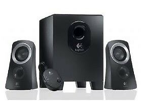 AU117.60 • Buy Logitech Z313 Speakers 2.1 2.1 Stereo, Compact Subwoofer Spl-z313