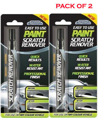 £3.49 • Buy 2 X Car Scratch Remover Touch Up Magic Pen For Any Colour Car Paintwork Repair