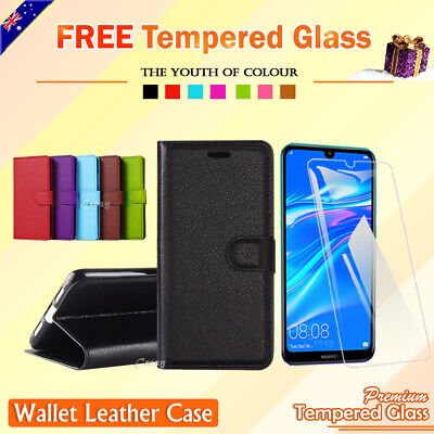 AU8.45 • Buy For Huawei Y7 Pro 2019 Y6 2018 Y5 Wallet Leather Case Flip Card Pocket Cover OZ