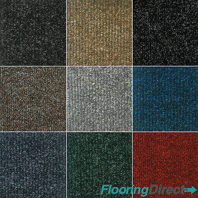 Quality Carpet Tiles 6m2 Box - Commercial Domestic Office Heavy Duty CHEAP PRICE • 44.99£