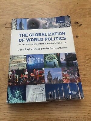 £4.80 • Buy The Globalization Of World Politics: An Introduction To International Relations