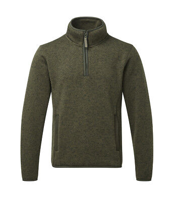 £17.39 • Buy Men's Fort  Easton Pullover Jumper Sweater Fleece Olive Country Hunting Shooting