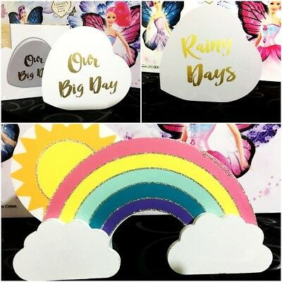 Rainbow Rainy Day Our Big Day Unicorn Money Box Piggy Bank Money Saver Branded • 9.95£