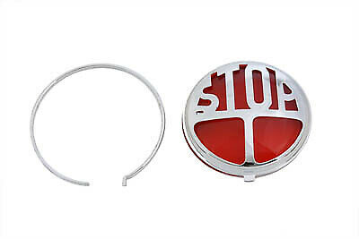 Tail Lamp Lens Kit Stop Style Red,for Harley Davidson,by V-Twin • 32.33£