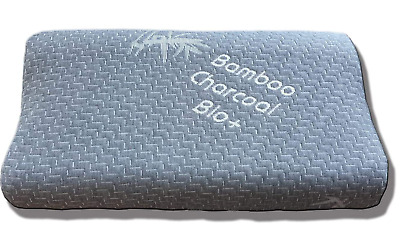 Contour Memory Foam Pillow Neck Back Support Orthopaedic Firm Head My Pillows • 12.99£