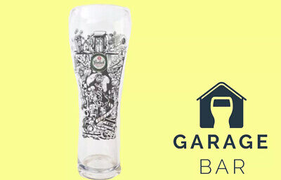 Grolsch Blond 4/% Nucleated And Tempered Pint Glasses Tall /& Slim New Pair Of 2