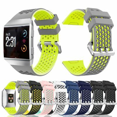 AU10.89 • Buy For Fitbit Ionic Strap Silicone Sports Fitness Replacement Wrist Band