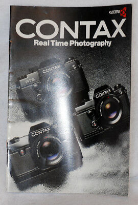 $ CDN15.19 • Buy CONTAX For RTS II 137 139 Quartz Real Time Photography Camera Brochure Pamphlet