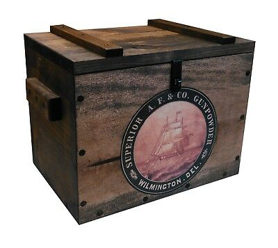 Wooden Ammo Crate