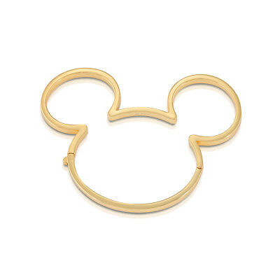 £39 • Buy Disney Couture Kingdom Mickey Mouse 90 Years G-Plated Bangle