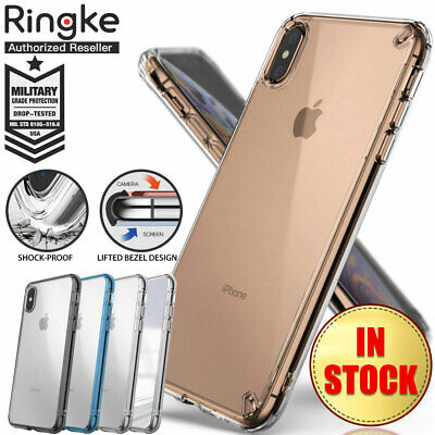 AU14.36 • Buy IPhone XS Max XR X Case Genuine Ringke Fusion Clear Slim Cover For Apple