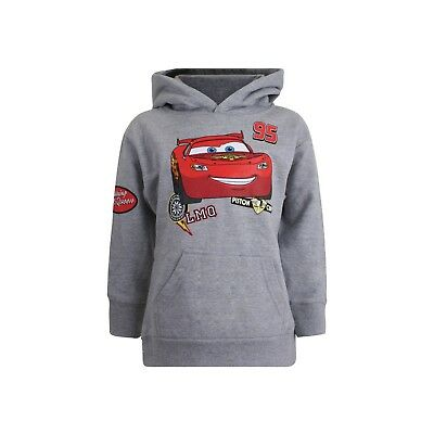 Disney Cars - Patches - Kids Pullover Hoodie - Sport Grey • 14.99£