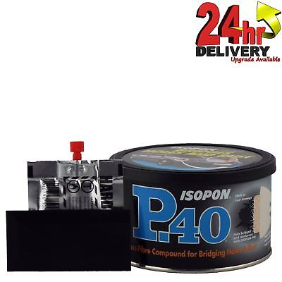 U-Pol David's Isopon P40 Fibre Glass Body Filler 250ml Durable Waterproof U-Pol • 9.96£