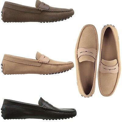 0d25bcd9f Lacoste Men s NEW Concours Leather Penny Slot Loafers Slip On Comfort Shoes  • 99.95