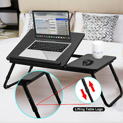 AU47.99 • Buy Laptop Stand Desk Lap Bed Table Tray Sofa Computer Portable Foldable Adjustable