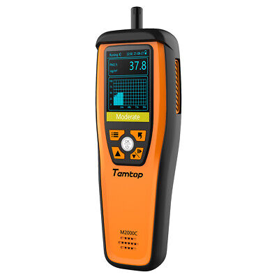 $149.39 • Buy Temtop M2000C Air Quality Detector PM2.5 PM10 CO2 Particles Humidity Temperature