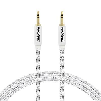 £1.99 • Buy 1 Metre Gold-Plated Jack Plug AUX Headphone Cable Lead For IPad IPhone IPod HTC