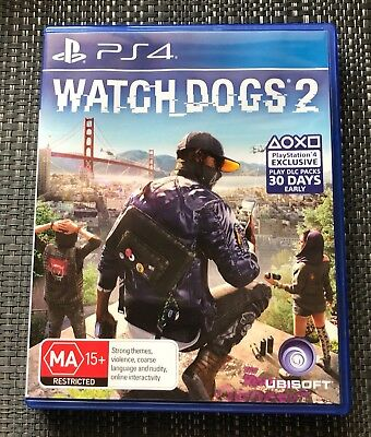 AU35 • Buy Ps4 Watch Dogs 2 Deluxe Edition Game