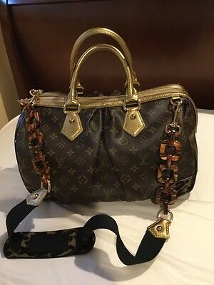 2bf5d0034862 Authentic Louis Vuitton Monogram Leopard Stephen Limited Edition Handbag  NWT • 4