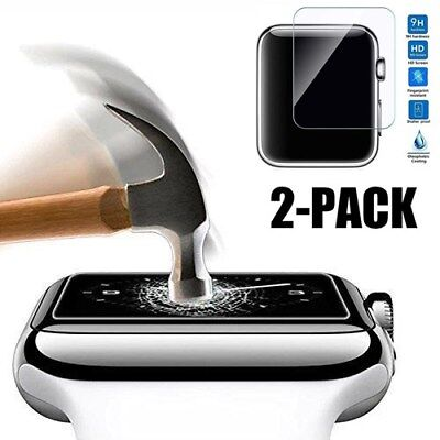 $ CDN2.28 • Buy 2 PACK Tempered Glass Screen Protector For Apple Watch Series 4 - 40mm/44mm