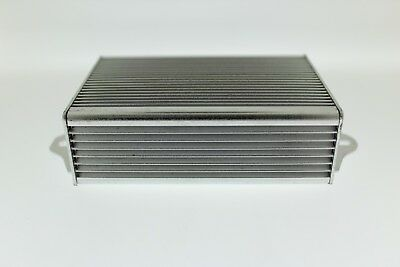 Aluminium Project Box Electronic Enclosure Silver Component Case Wall Mountable • 6.99£