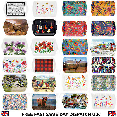 Wrendale Stag and Owl Scatter Trays Pack Of Two 2 Free P/&P!